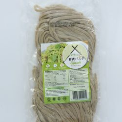 Japanese Fresh Spinach Pasta